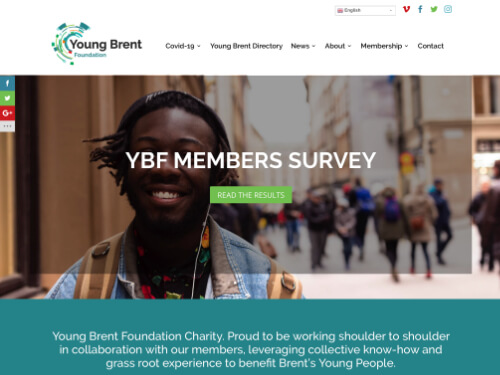 Young Brent Foundation Website
